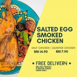 Smoked Salted Egg Chicken