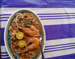 Char koay teow Udang
